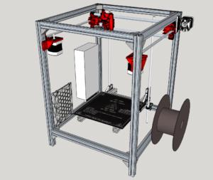 hypercube sketchup model